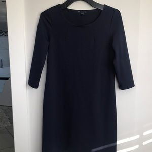 NWOT Navy GAP Dress, super cute SZ S